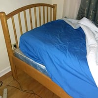 blue and brown bed frame Mahopac, 10541
