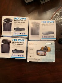 BRAND NEW NEVER OPENED universal dash camera - $20 a piece obo.  High Point, 27262