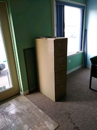 Filing cabinet 4 drawer. 52x25x15 Norristown, 19403