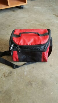 black and red leather crossbody bag Union City, 94587