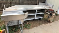 Stainless table with wheels Amarillo, 79110