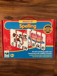 Children's educational learning to spell game Escondido, 92029