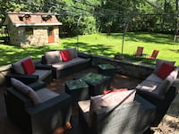 Outdoor seating (sectional) 10 pieces