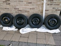 Winter tires//195/65/r15...used 1 month only Toronto, M2J 0B7