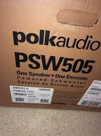 """Polk Audio PSW505 12"""" Powered Subwoofer - 