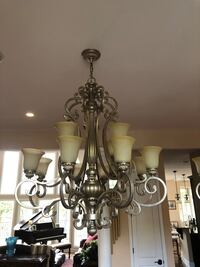2 beautiful antique silver chandeliers Falls Church, 22042