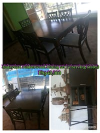 Premium pre-loved dining table Angeles