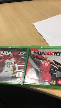 two Xbox One game cases Toronto, M9W