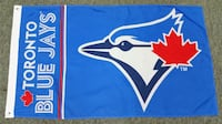 Blue Jays Flag - 5' X 3' Large Mississauga