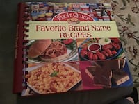 Cook book - Favourite Brand Name Recipes Toronto, M1E 4S4