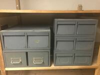Grey storage boxes St Catharines, L2M 3A4