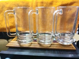 Beer Mugs (10) New $10