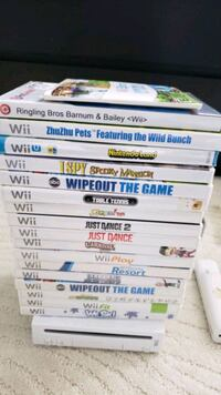 Nintendo wii with games Ashburn, 20147