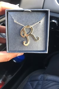 Ariella collection initial necklace