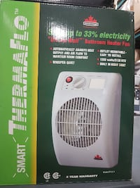 Seabreeze 1500w Sleek Off the Wall Bathroom Heater - SF14TA Mississauga