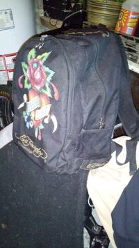 Ed hardy backpack. MUST SELL. 3711 km