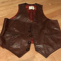 Men's size 46 vintage vest from Georgetown Leather! Silver Spring, 20904
