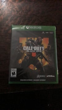 Xbox one call of duty black ops 4 Brampton, L6P 1A1