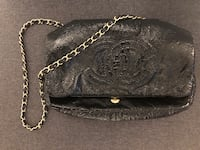 Chanel bag black with gold chain New York, 10013