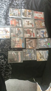 Sony PS3 game case collection