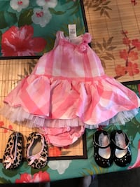 girl's pink and white dress Las Vegas, 89129