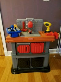 red and gray plastic kitchen playset Norfolk, 23508