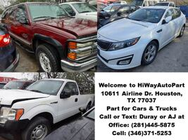 Used Parts from Cars and Trucks