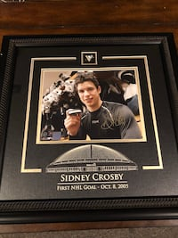 Sidney Crosby singed photo Burlington, L7R 3M8