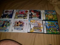 Nintendo 3ds games and case Mississauga, L4W 4A1