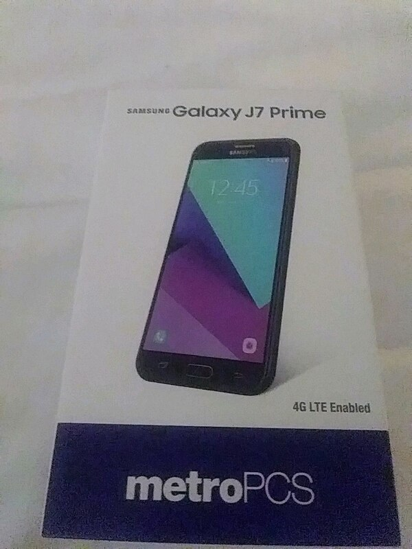 Samsung Galaxy j7 Prime for Metro PCS