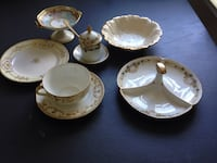 Cup, saucer and other (hand painted) Nippon! King Of Prussia, 19406