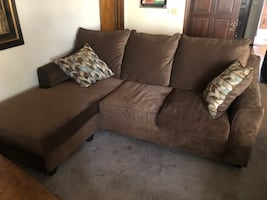 Couch with Chaise Lounge