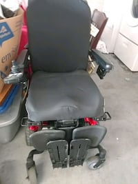 black and red motorized wheelchair Sarasota, 34241