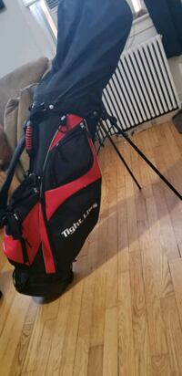 Adult right handed golf set. Callaway, taylor made and tight lies
