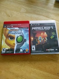 two ps3 games in case Bronx, 10452