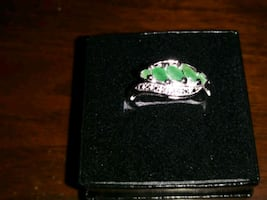 Sterling silver 925 Ring Marquise