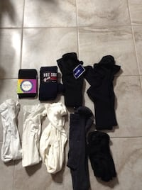 Girls New and used tights sizes  [PHONE NUMBER HIDDEN]  and 12/16 $10 for Portage, 46368