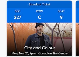 City & Colour tickets