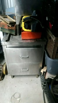 Stainless steel 2 drawer cabinet  New Rochelle, 10801