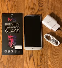 LG G5 with charger and new screen protector!