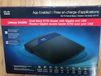 Cisco Linksys N750 Dual-Band Wireless Router - New Toronto, M1G 2G1