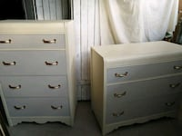 TWO Refinished Antique Waterfall Dressers~Two Tone Whitchurch-Stouffville, L4A 4K1