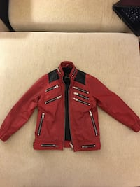 red and black leather jacket Istanbul, 34959