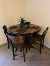 Rustic Bar Table and 4 Chairs Costa Mesa, 92626