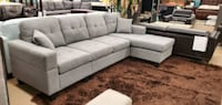 New sectional with reversible chaise and free delivery