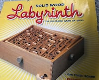solid wood labyrinth the solitaire game of skill New Carrollton, 20784