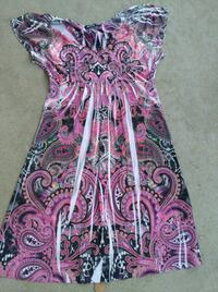 pink and blue floral dress Moreno Valley, 92557