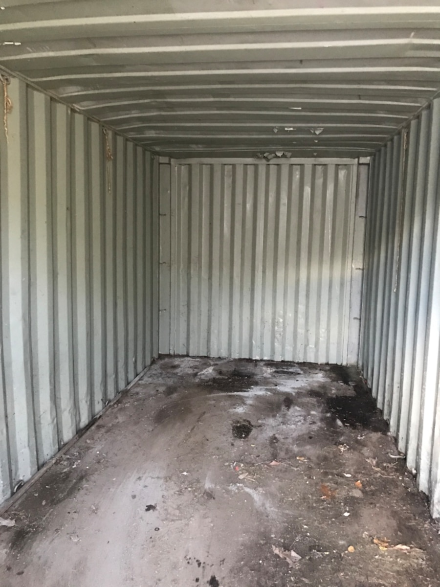 red dry truck trailer - United States