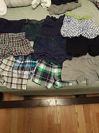assorted color shorts