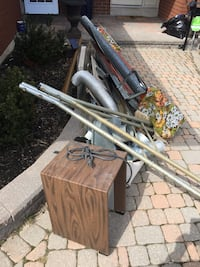 Free scrap metal. 109 Portico Dr. must've picked up by 7 pm